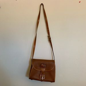 Vintage Dooney and Bourke brown leather purse